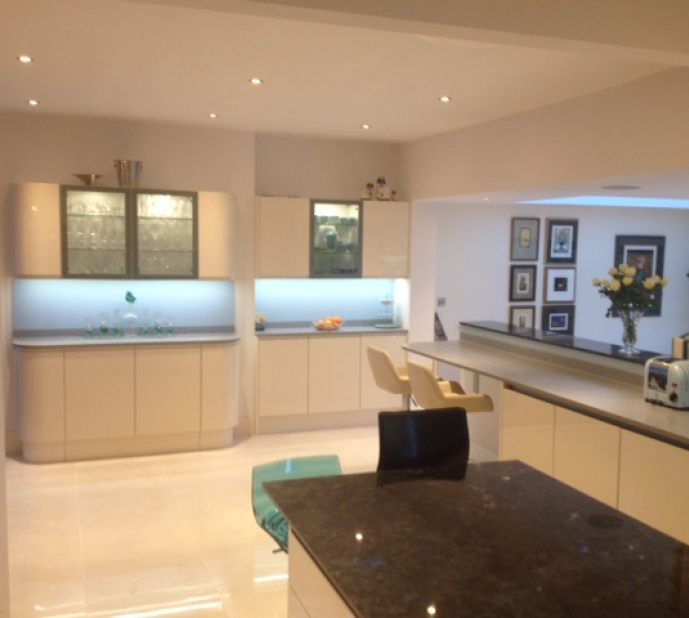 Large kitchen extension